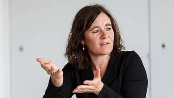 Solothurns einzige Parlamentarierin in Bern: SP-Kantonalpräsidentin Franziska Roth wurde am 20. Oktober in den Nationalrat gewählt. Die Stadtsolothurnerin verdrängte SP-Mann Philipp Hadorn.