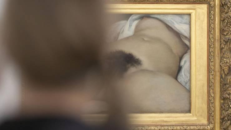 """Gustave Courbets berühmtes Gemälde """"L'Origine du monde steht bei der Diskussion im Vordergrund."""