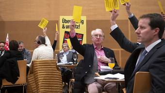 Die Delegierten der SVP Schweiz stimmten gegen die Zersiedelungsinitiative.