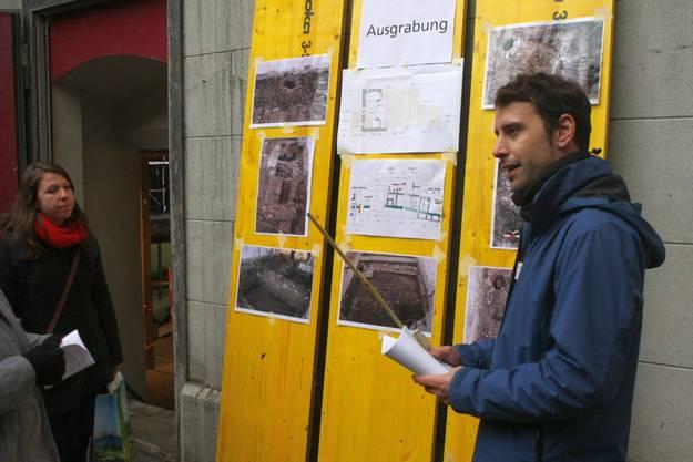 Fabio Bortoli, Ausgrabungsleiter