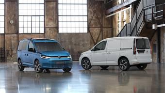 Nicht nur äusserlich anders: Der neue Caddy basiert auf dem neuen Modularen Querbaukasten von Volkswagen.