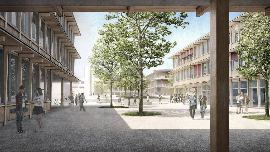 Siegerprojekt für die Erweiterung der Schulanlage Herti steht fest