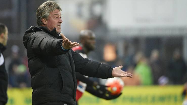 Sein Plan ging auf: FCA-Coach Marco Schällibaum.