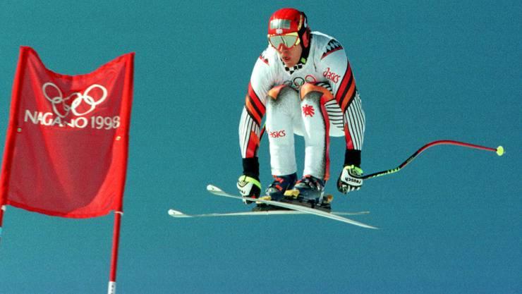 1998 fanden in Nagano die olympischen Winterspiele statt.