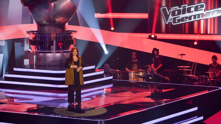 Schweizer Sängerin bei The Voice of Germany