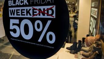 Rabattschlacht à gogo: Der «Black Friday» findet bei manchen Händlern sogar eine ganze Woche lang statt.