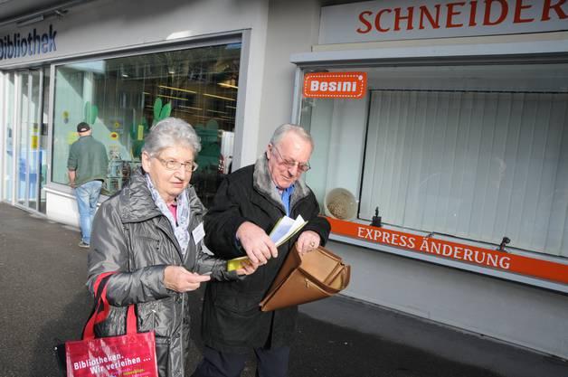 Senioren Begrüssung Pro Senectute Schlieren