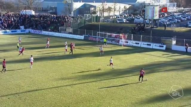 Challenge League: 21. Runde, FC Aarau - FC Chiasso, 56. Minute, Stefan Maierhofers Tor zum 1:0