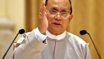 Burmas Staatschef Thein Sein will Minderheiten im Land besser schützen (Archiv)