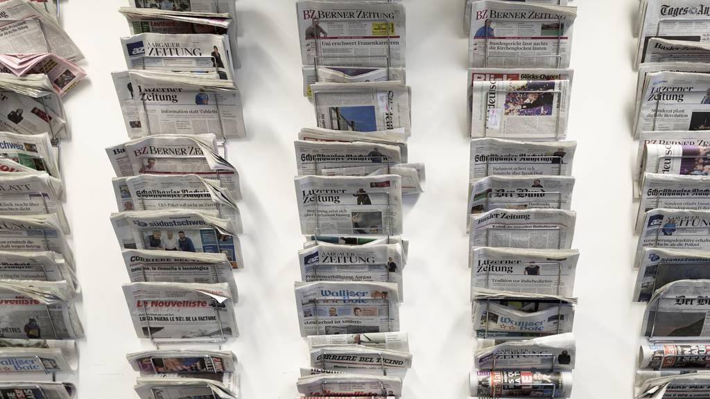 Parlament beschliesst Soforthilfe für Schweizer Medien
