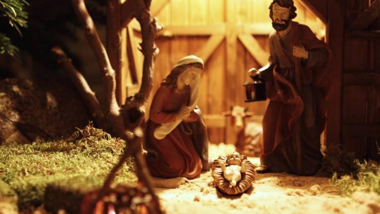 Ein Neugeborenes wurde in der Weihnachtskrippe einer New Yorker Kirche ausgesetzt. (Symbolbild)