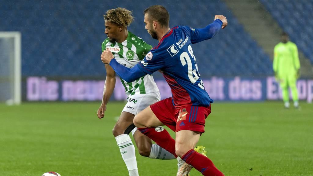 St.Gallen verliert wichtiges Spiel gegen Basel