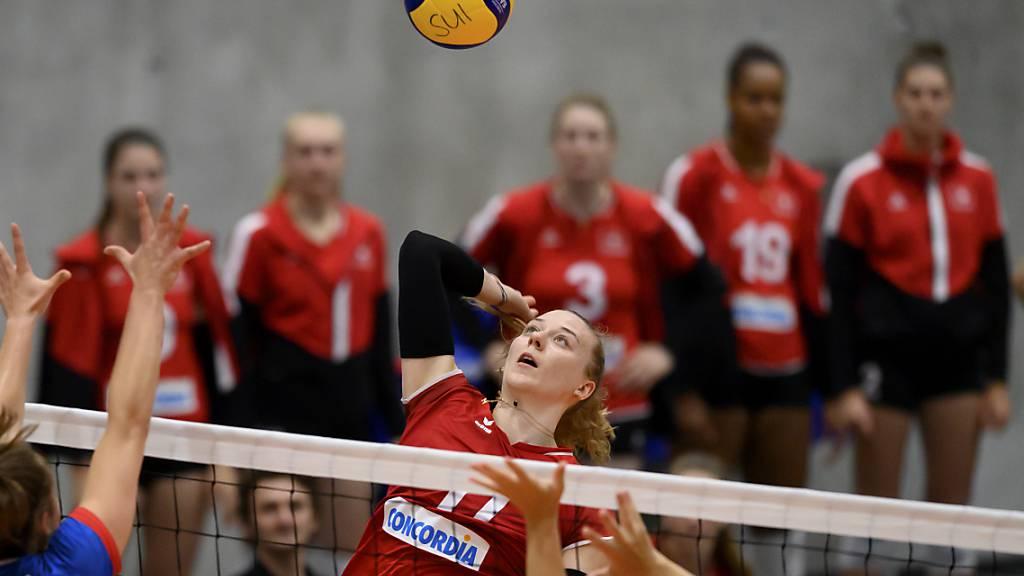 Auch die zehn Punkte von Topskorerin Maja Storck konnten der Schweiz beim EM-Auftakt gegen Gastgeber Kroatien nicht zum Sieg verhelfen