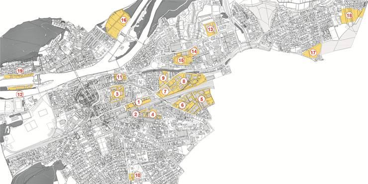 Wo sich Aarau verdichtet