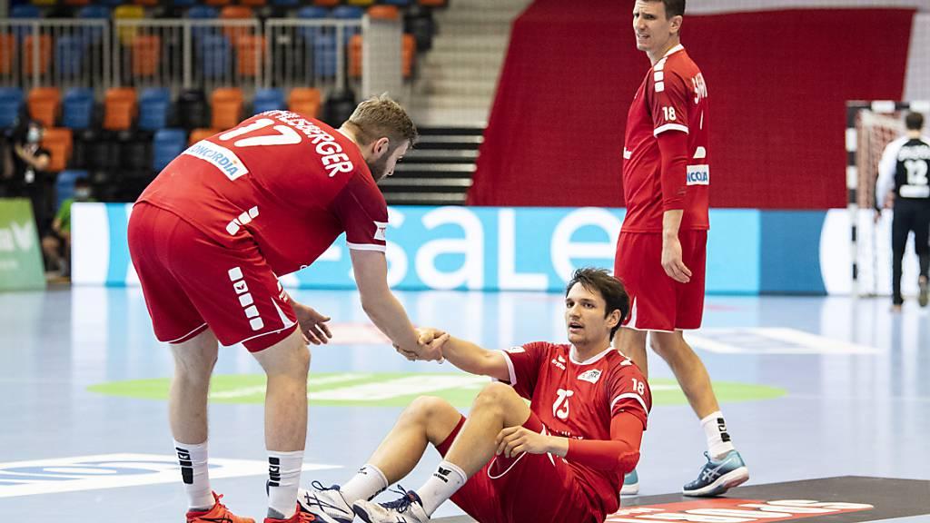 Die Schweizer mühten sich im zweiten Spiel gegen Finnland ab