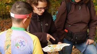 Die Karte ist das A und O für Orientierungsläufer. Am Sonntag müssen die Teilnehmerinnen und Teilnehmer auf die Karte Achenberg-West zurückgreifen.