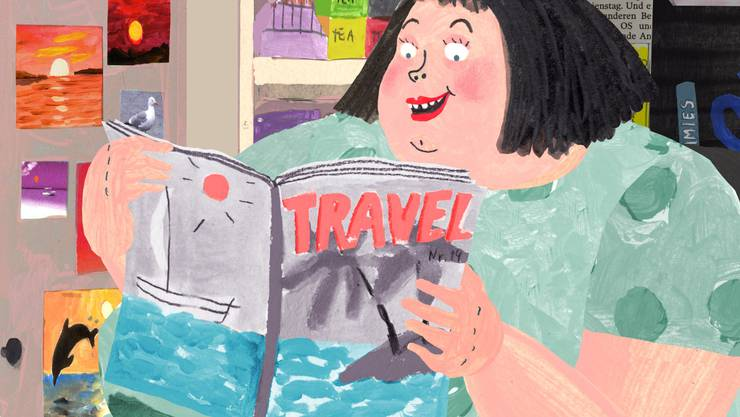Die Zeitschriftenverkäuferin in Anete Meleces Film «The Kiosk» macht ihren Traum von der Südsee wahr.