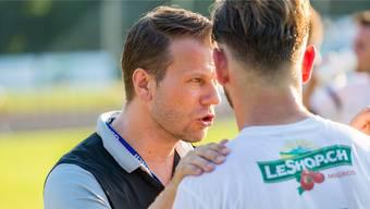 Trainer Andreas Hediger (FC Lenzburg)