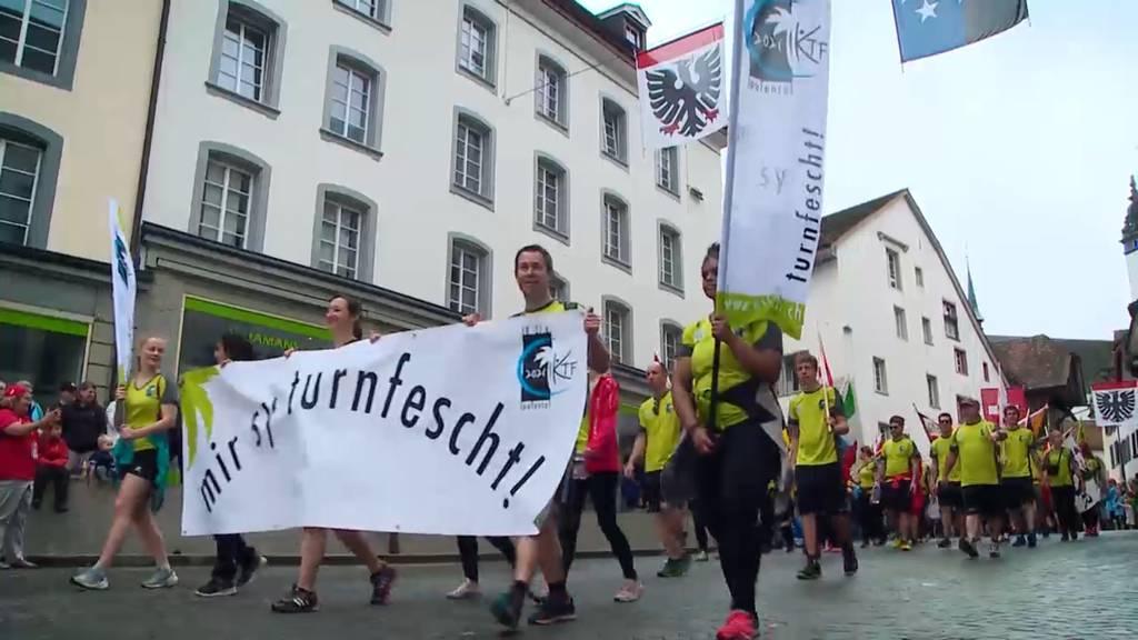 Eidgenössisches Turnfest Aarau: Teil 7
