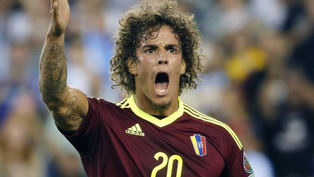 Rolf Feltscher spielt neu für den FC Getafe in der zweithöchsten Liga Spaniens