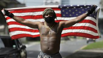 Die Proteste nach dem Mord an George Floyd sorgen für grosse Unruhen in den USA.