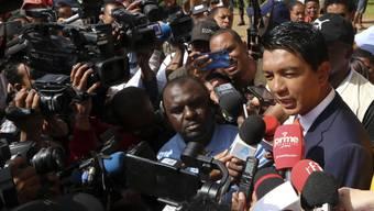 Andry Rajoelina gewinnt die Präsidentschaftswahl in Madagaskar.