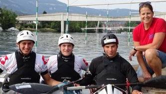 Drei Solothurner Kajakfahrer haben sind für die Junioren-WM selektioniert worden.