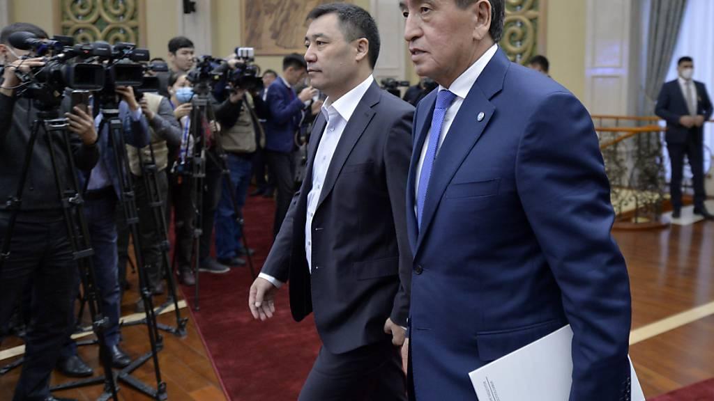 Parlamentswahl in Kirgistan wird in zwei Monaten wiederholt