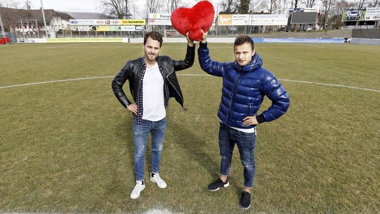 Seit dem (1:2) in Rapperswil-Jona sind Zverotic und Jäckle unzertrennlich und bilden das neue Herz des FC Aarau.