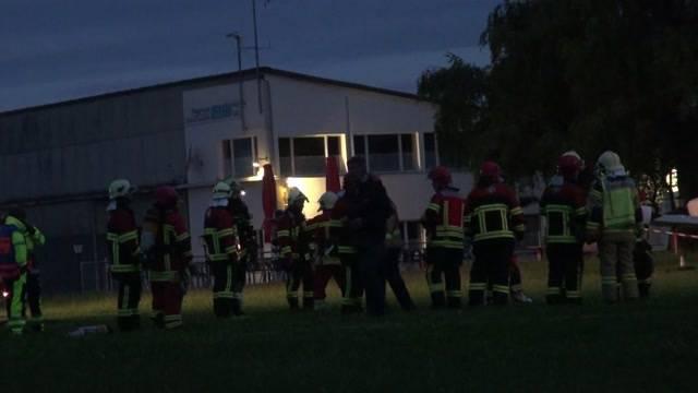 Explosionen in Hangar verursachen Millionenschaden