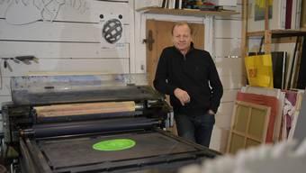 Marc Reist Künstler aus Schnottwil, in Grenchen geboren und aufgewachsen erhält den Kulturpreis der Stadt Grenchen 2019