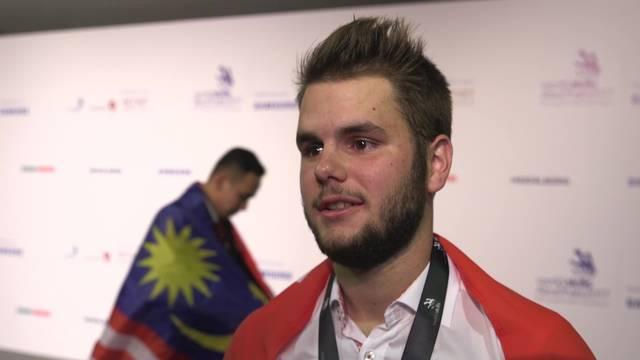 Berufsweltmeisterschaften: Der Baselbieter Heiko Zumbrunn holt Silber