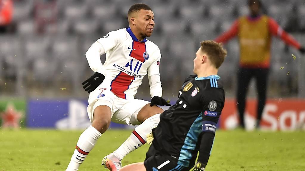 Kylian Mbappé entschied das Duell gegen Manuel Neuer für sich