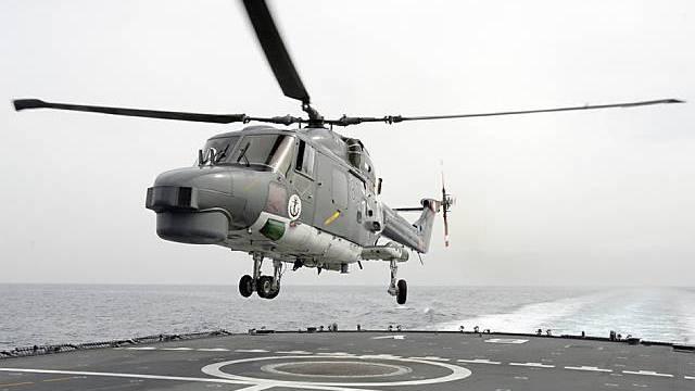 Hubschrauber hilft bei Flucht (Archiv)