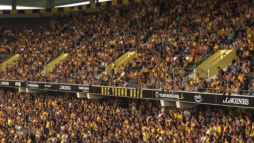 YB erreicht nächste Qualifikationsrunde zur Champions League vor 19'500 YB-Fans