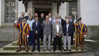 Schweizergardisten des Kantons Solothurn