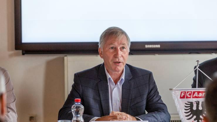 «Als Präsident des FC Aarau fühlte ich mich um eine grosse Chance geprellt, ja sogar verschaukelt.» - Alfred Schmid, Präsident FC Aarau.