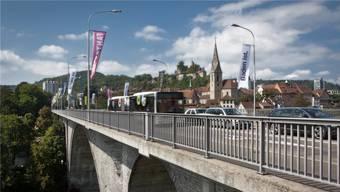 Ab 2040 soll die Hochbrücke als Trassee für die Limmattalbahn dienen. (Chris Iseli)