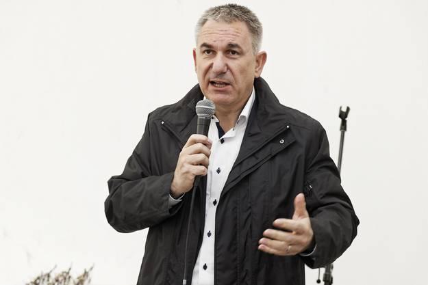 Alex Hürzeler (SVP-Regierungsrat)