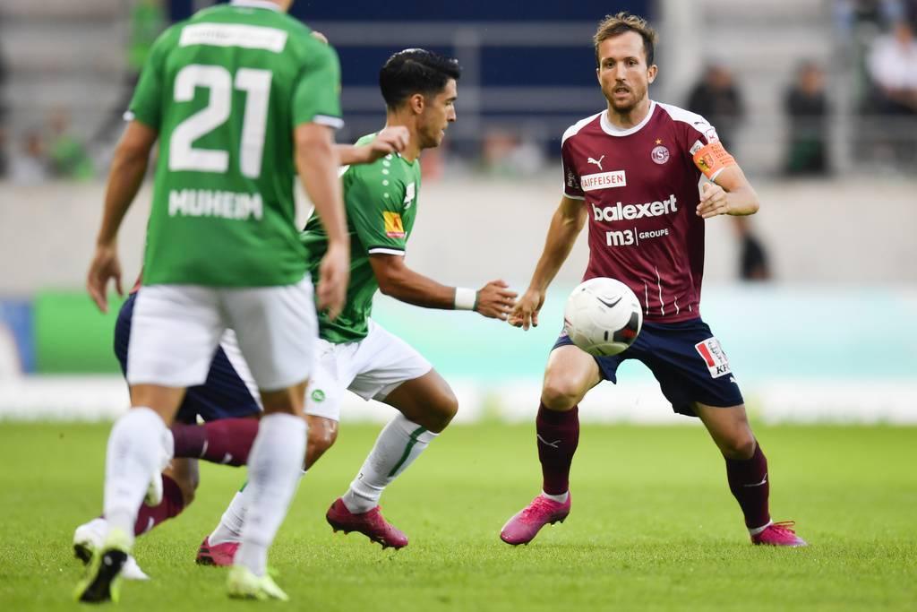 Victor Ruiz zeigte ein starkes Spiel. (© Keystone)