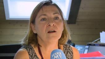 Christina Gloor im Beitrag von Tele M1.