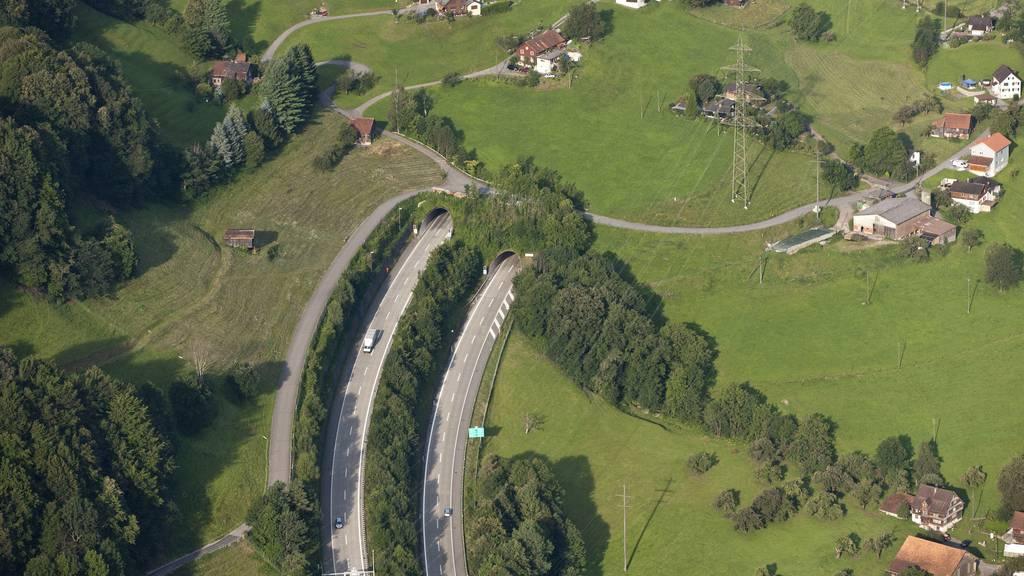 Walensee-Autobahn mehrere Nächte gesperrt