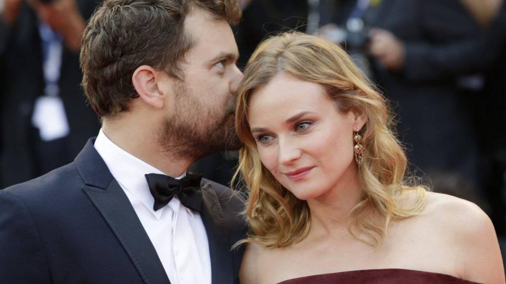 Die bewusste Arbeit an ihrer Beziehung zahlt sich aus: Hollywood-Schauspieler Joshua Jackson und Diane Kruger sind seit bald zehn Jahren zusammen (Archiv).