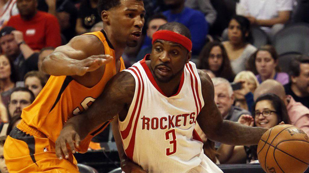 Die Houston Rockets mit Guard Ty Lawson setzten sich gegen die Phoenix Suns klar durch