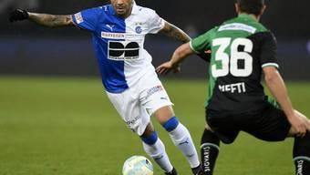 Der Brasilianer Caio war einer der auffälligsten Spieler beim 2:2 zwischen den Grasshoppers und St. Gallen.
