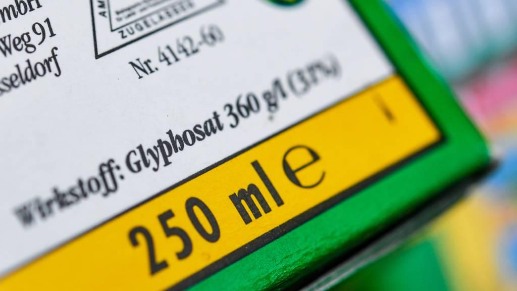 Parlament lehnt zwei Standesinitiativen gegen Glyphosat ab