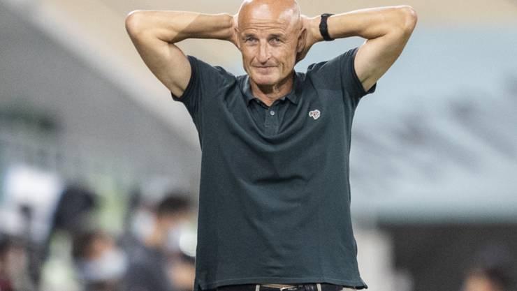 Welche Erkenntnisse entnahm St. Gallens Coach Peter Zeidler dem Spiel gegen Vaduz?