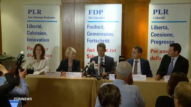 Cassis, Moret, Maudet: FDP schickt sie alle ins Rennen