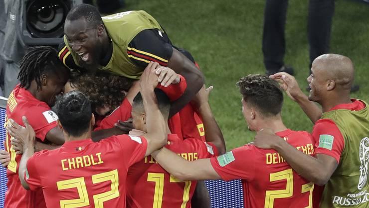 Können die Belgier auch im Achtelfinal jubeln?