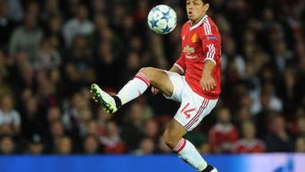 Javier Hernandez hier noch für ManU